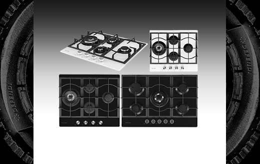 GL series of new Günter & Hauer gas cooktops: classical reliability and comfort